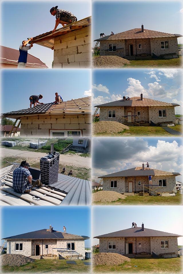 Пошаговый монтаж металлочерепицы на крышу собственными силами