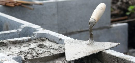 бетон и мастерок