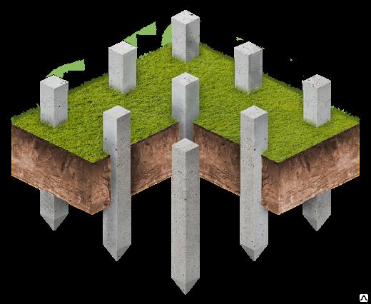 Свайный фундамент