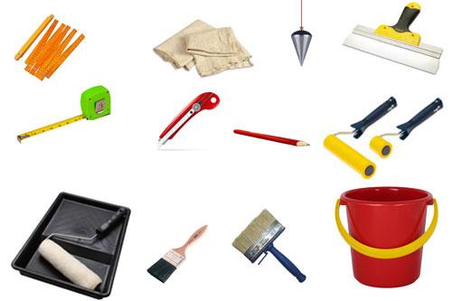 Инструмент для расклейки обоев