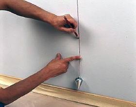 Отмечаем вертикальную черту для обоев