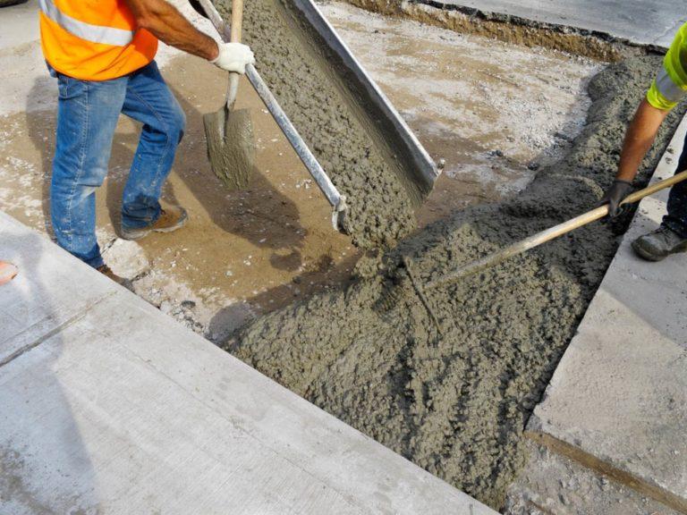Бетон твердеет тактика бетон