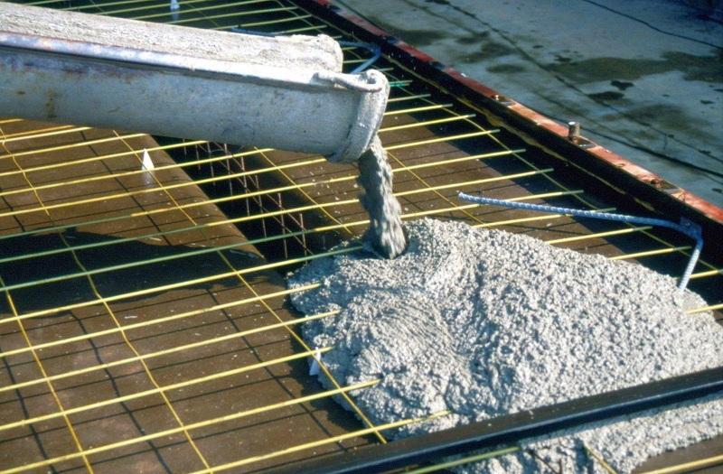 заливка цемента