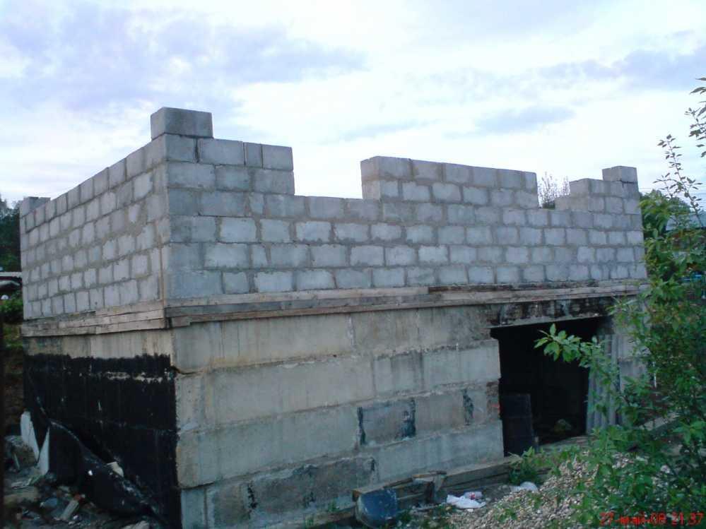Размер строительного блока из полистиролбетона